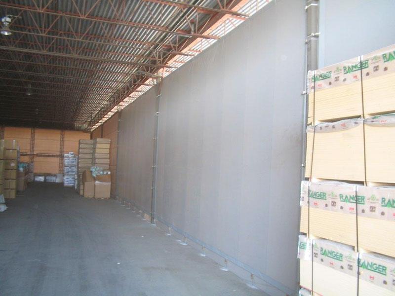 Vinyl Tarp Industrial Recreational Curtains Alberta