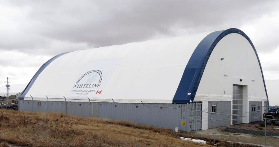 Sea Can Foundation Building Alberta Canvas Fabric